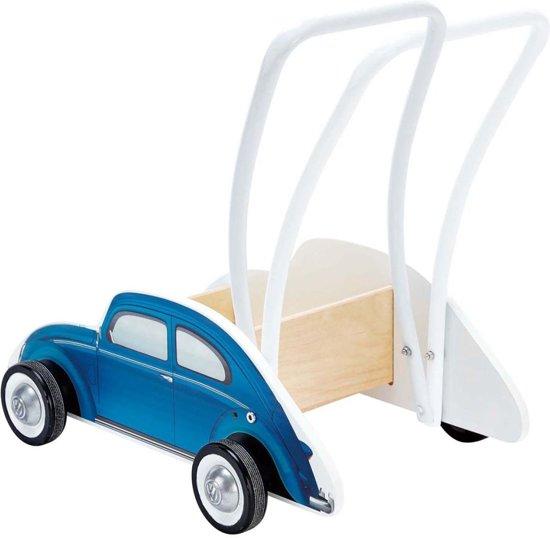 Hape Kever Blauw - Loopwagen