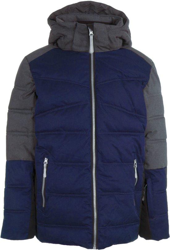 Icepeak  Carl  Wintersportjas - Maat 152  - Unisex - blauw/grijs/zwart