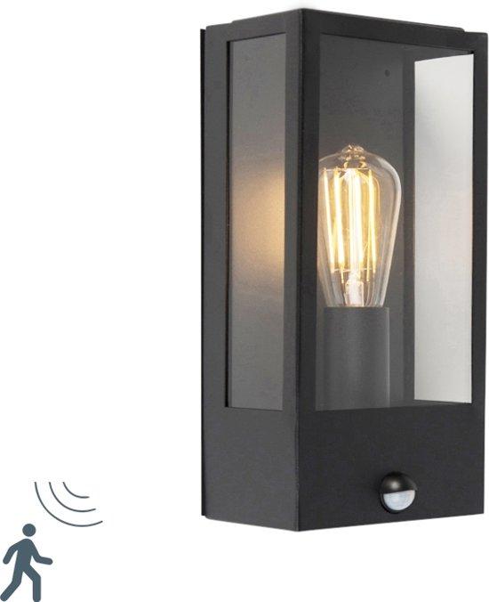 Super bol.com | QAZQA rotterdam - Wandlamp met sensor - 1 lichts - D 100 WF56