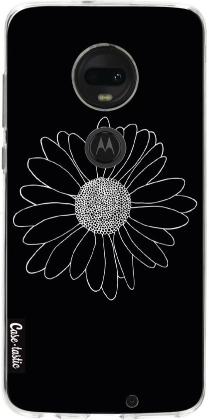 Casetastic Softcover Motorola Moto G7 / G7 Plus - Daisy Black