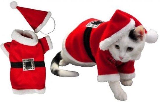 Kerstkleding - Compleet kostuum - hond of kat