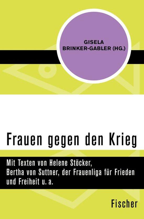 Boek cover Frauen gegen den Krieg van  (Onbekend)