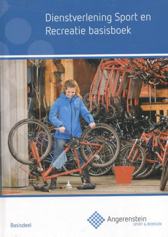 Angerenstein SB - Dienstverlening sport en recreatie basisboek - Kristel Gubbels