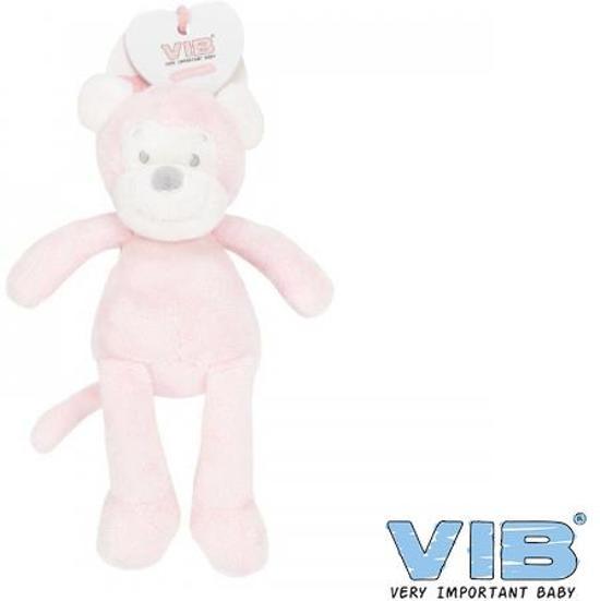 95aa1bf64515c5 bol.com   V.I.B. pluche aap groot roze, VIB   Speelgoed