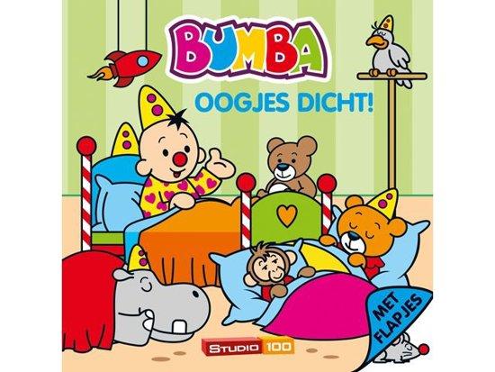 Boek cover Bumba kartonboek met flapjes - Oogjes dicht van Jan Maillard (Onbekend)