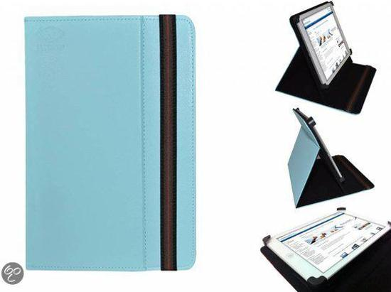 Hoes voor de Trekstor Surftab Ventos 10.1 , Multi-stand Case, Blauw, merk i12Cover