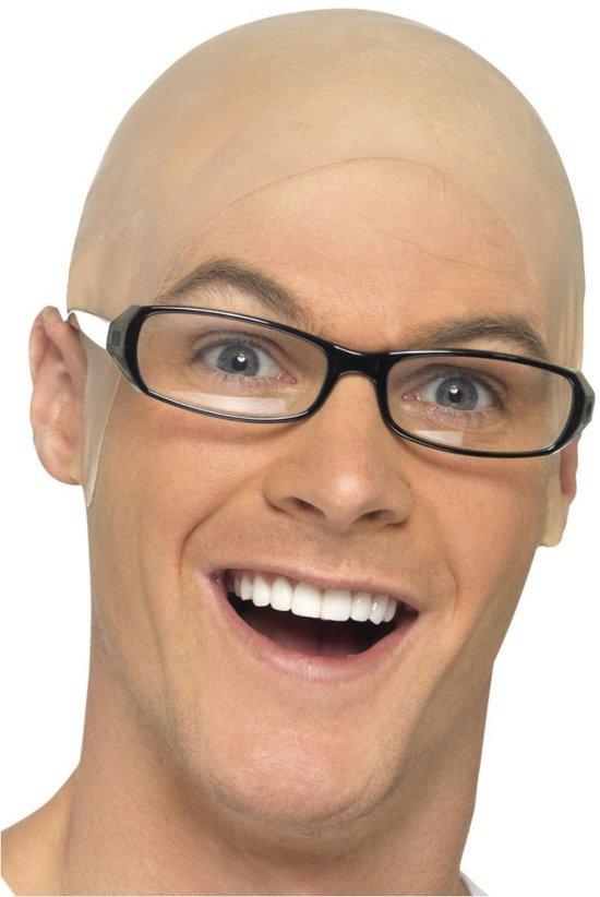 Kaal hoofd pruik voor een kale kop
