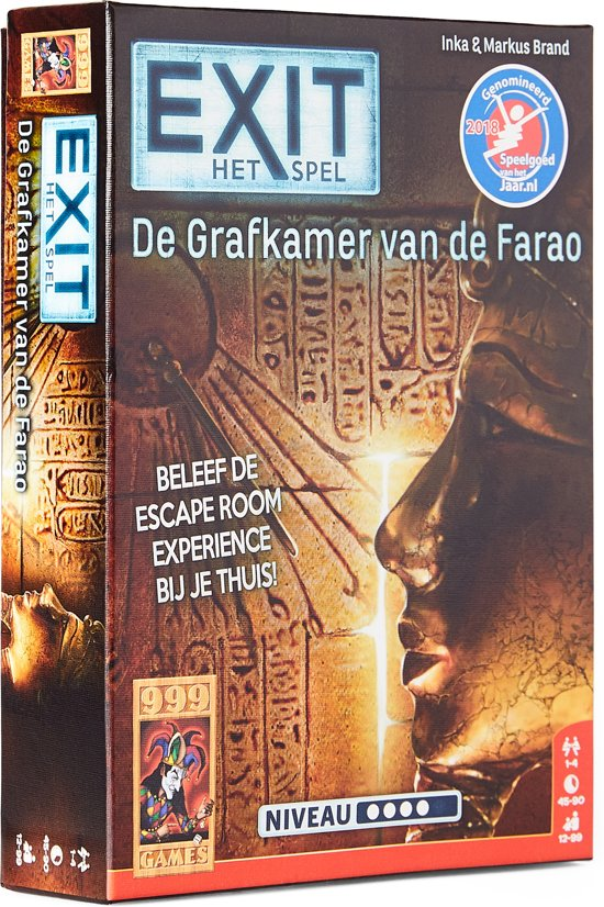 EXIT De Grafkamer van de Farao - Escape Room - Bordspel