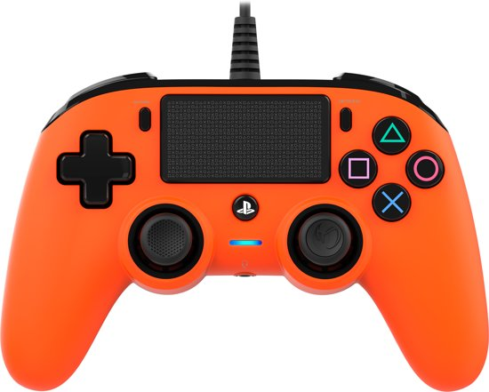 Nacon Official Licensed Playstation 4 Compact Controller - PS4 - Oranje