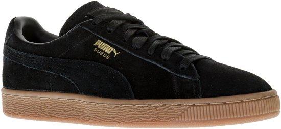 Chaussures En Daim - Pumas Taille 38 - Unisexe - Noir / Blanc eWxXq