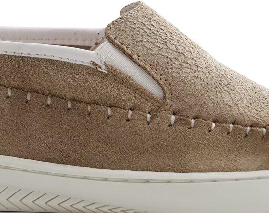 on Slip Dames Sneakers Lichtbruin Maat blomLeren P 39 Nogrz KclFJ3uT1
