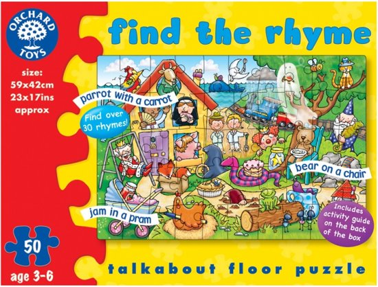 Orchard Find the Rhyme Puzzle