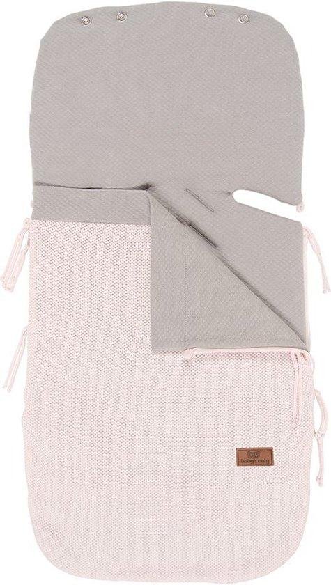 Baby´s Only zomer voetenzak autostoel 0+ Classic - classic roze