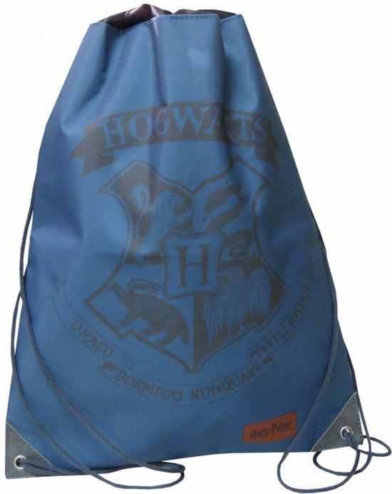 Harry Potter - Gymbag - 42 cm - Blauw, zwart