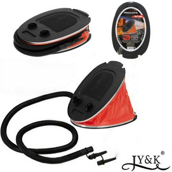 Voetpomp voor luchtbed zwembad boot for Opblaasboot action