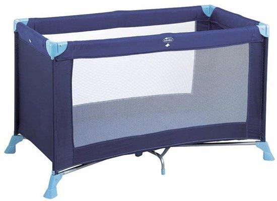Babidéal Kompak Campingbedje 120 x 60 - Love Blue
