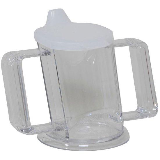 Almepro Beker Handycup transparant met deksel