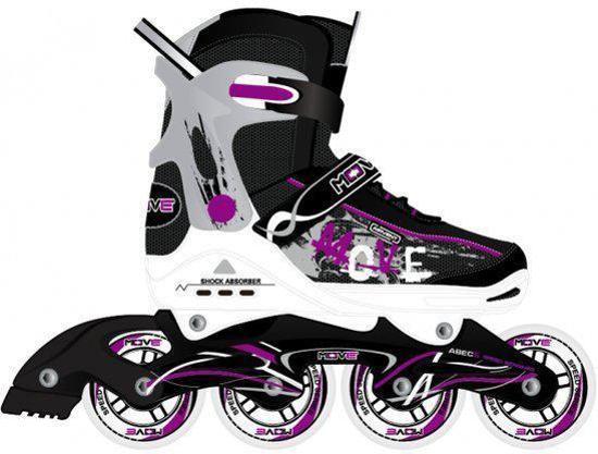680a589a325 bol.com | Inline skates Move Junior paars. Maat: 33-36