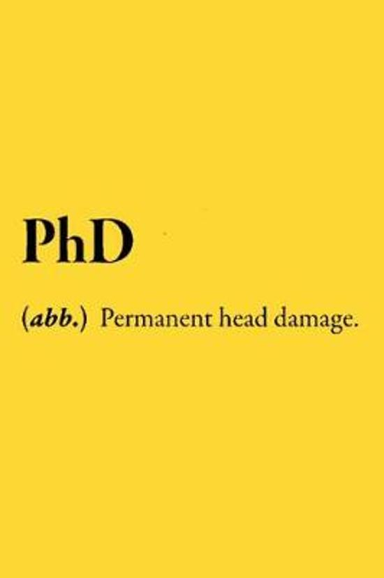 PhD (abb.) Permanent Head Damage