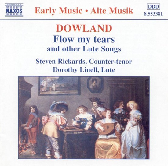 Dowland: Flow my tears, etc / Rickards, Linell