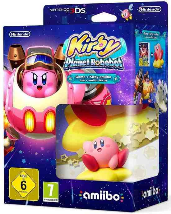 Kirby: Planet Robobot Game + Kirby amiibo - 2DS + 3DS kopen