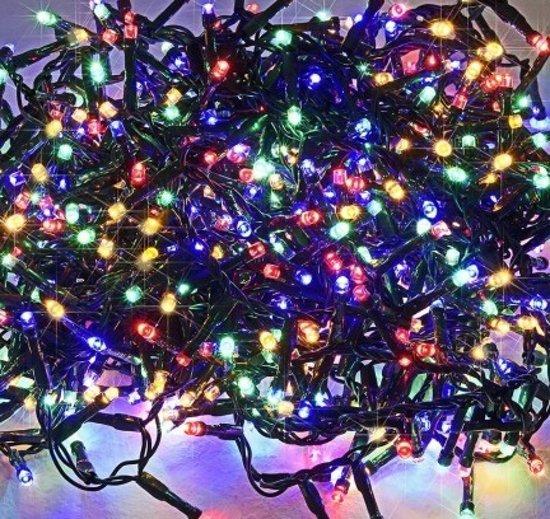 monzana kerstboom verlichting 700 veelkleurige leds binnen buiten 8
