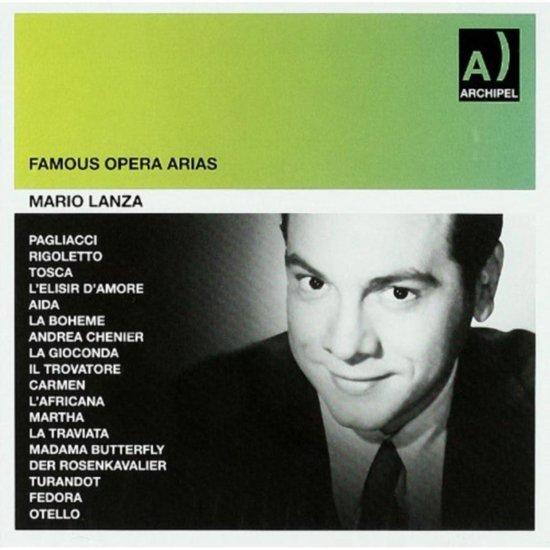 Mario Lanza: Famous Opera Arias