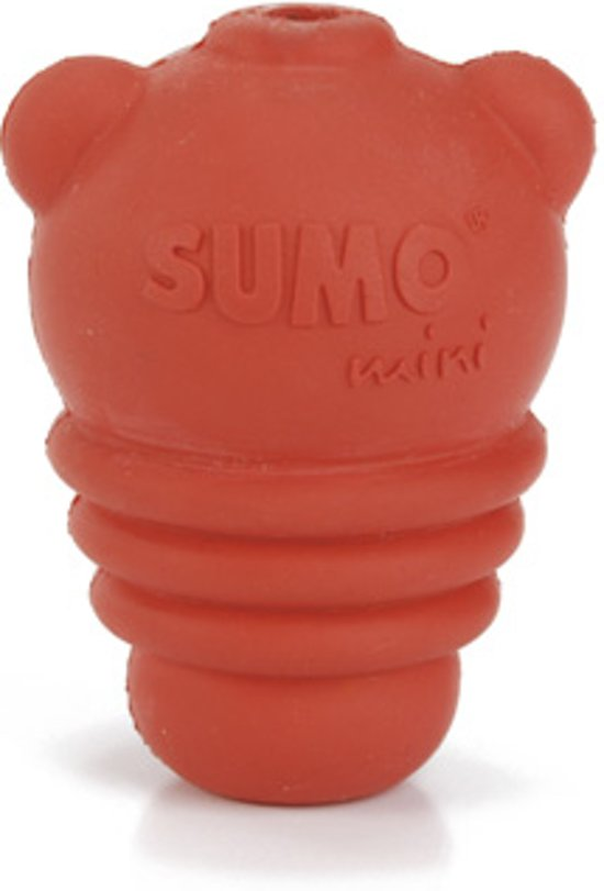 Beeztees Sumo Mini Play - Hondenspeelgoed - Rood - XXS