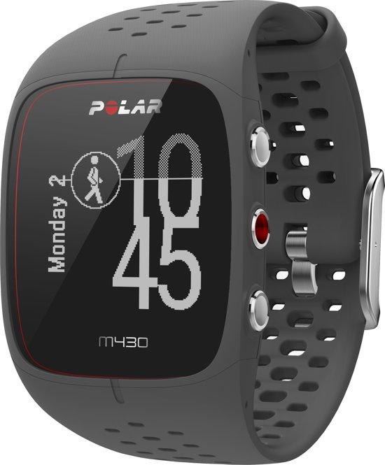 Polar M430 GPS Sporthorloge - Grijs - Large