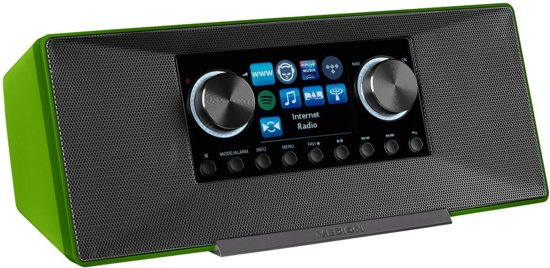 MEDION® LIFE P85135 WiFi DAB+ Internet Radio (Groen)