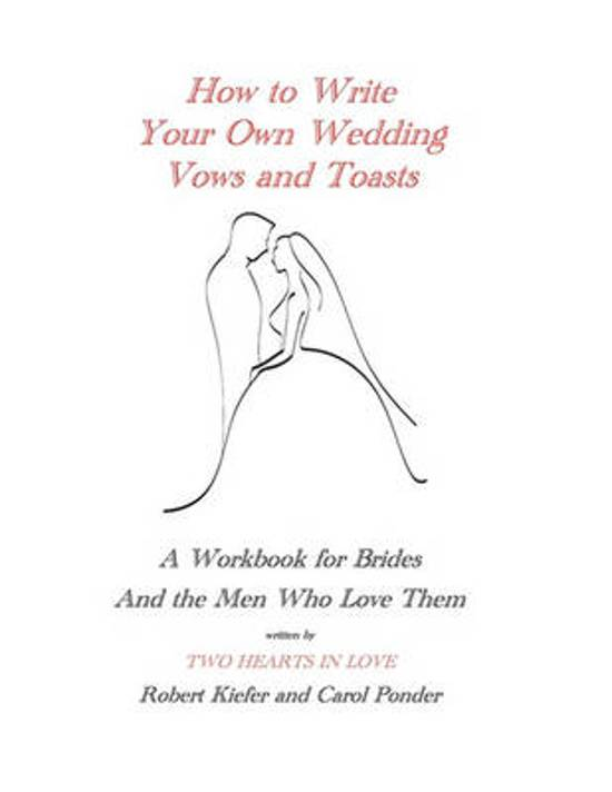 Samenvatting This Book Is For S Who Want To Write Their Own Wedding Vows
