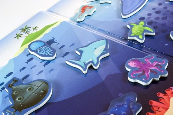 MYSTERIE van de ZEE, magnetisch spel voor onderweg