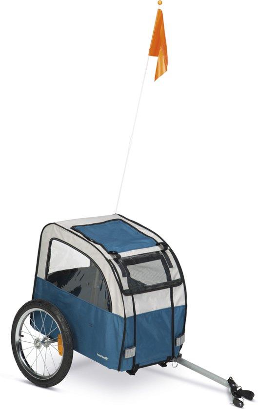 Beeztees Fortimo - Hondenfietskar - Grijs / Turquoise - 109 cm