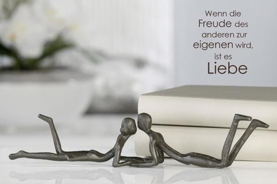 Sculptuurtje wij samen