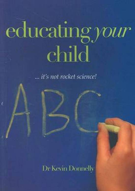 Educating Your Child