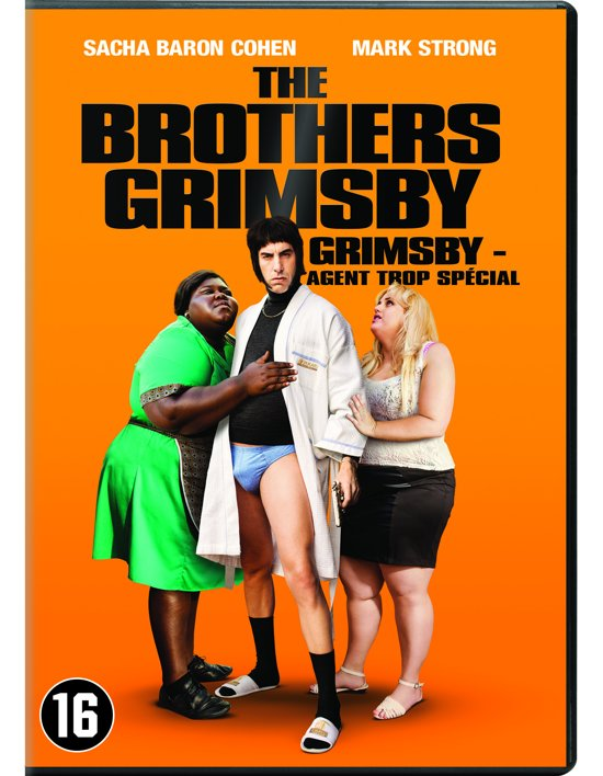 DVD cover van The Brothers Grimsby