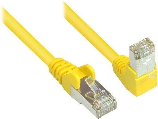Alcasa 806W-200Y netwerkkabel 20 m Cat6 S/FTP (S-STP) Geel