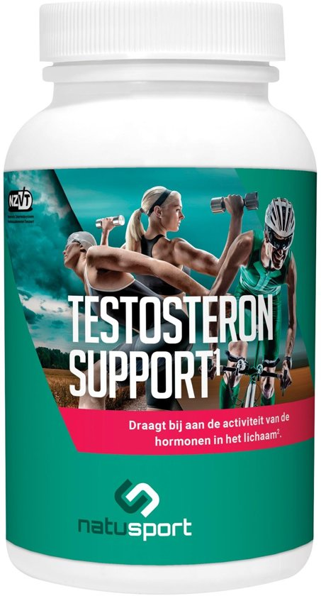 NatuSport Testosteron Support (60 tabletten)