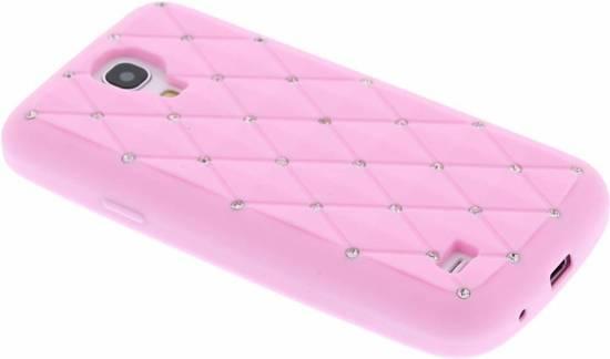 tui En Silicone Rose Avec Strass Pour Le Mini-samsung Galaxy S MaUeUvBj1O