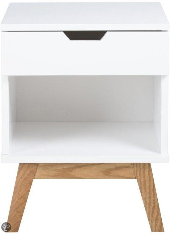 Design Nachtkastjes Wit.Bol Com Scandes Energiv Nachtkastje Wit