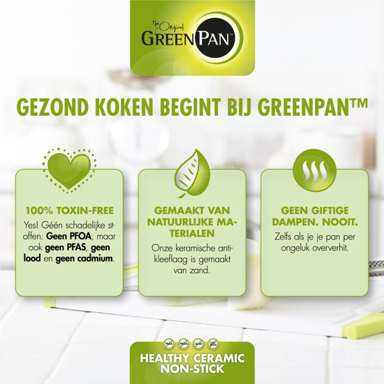 Greenpan Featherweights Braadpan à 26 cm