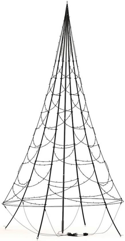 Fairybell - LED Kerstboom - 800cm - 1500led