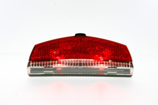 LED Fietsachterlicht / Staartreflector  - 2 LED'S