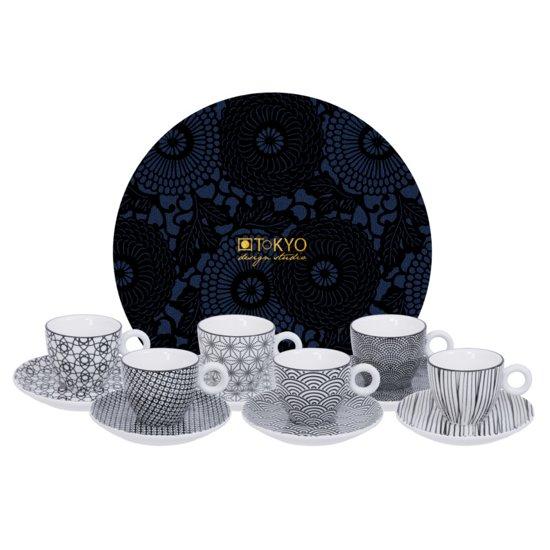 Tokyo Design Studio Nippon Black Espressoset