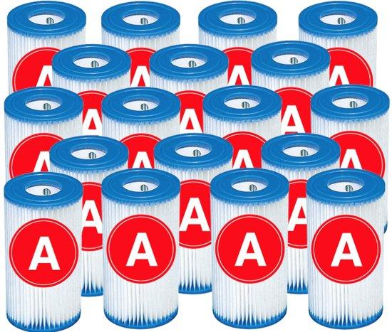 Zomer pack 18 stuks Intex Zwembad Filtercartridge Type A
