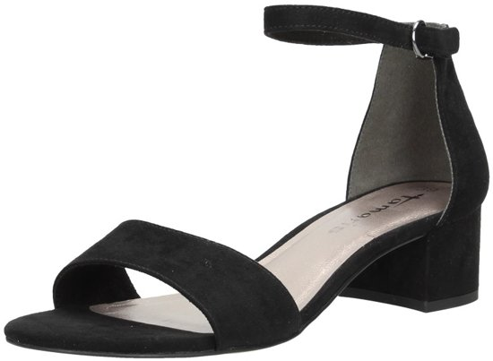 Tamaris dames sandalen Zwart - mt 36