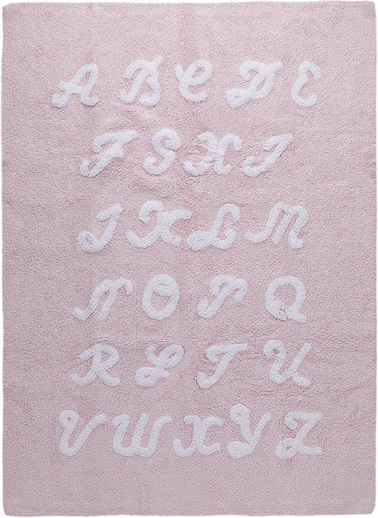 Vloerkleed babykamer ABC Pink