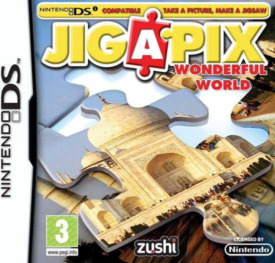 Jiga Pix: Wonderful World