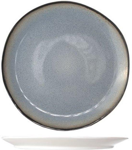 Cosy&Trendy Fez Dessertbord - Ø22,5 cm - Blue - 6 stuks