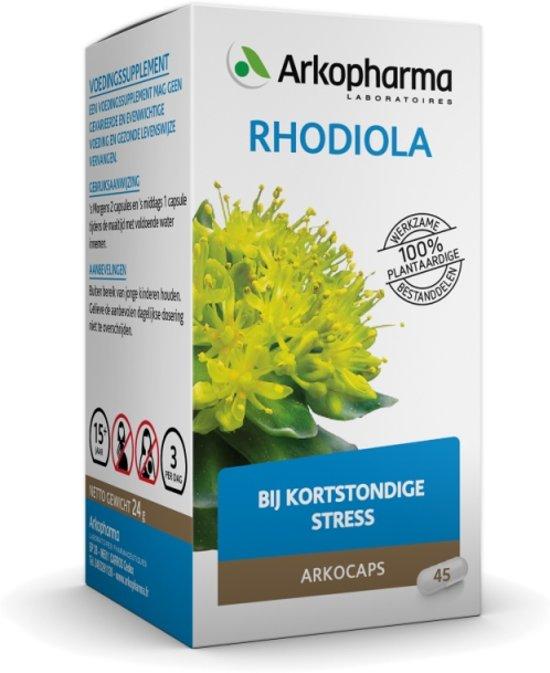 Arkocaps Rhodiola - 45 Capsules - Voedingssupplement